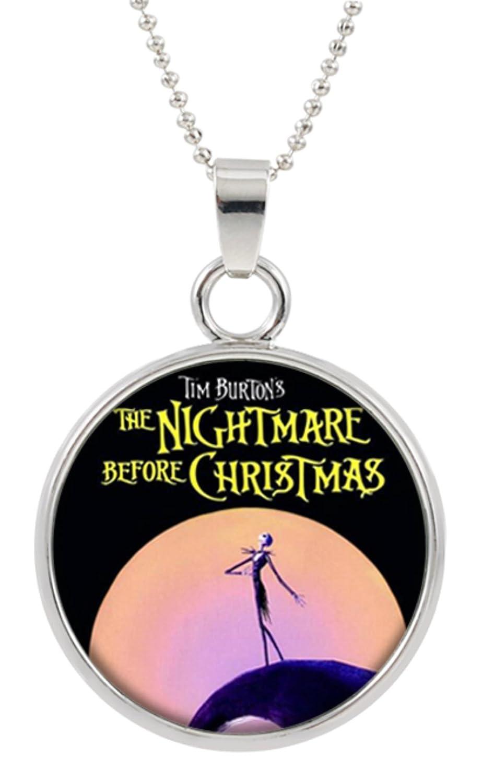 Amazon.com: The Nightmare Before Christmas Disney Pendant Necklace ...