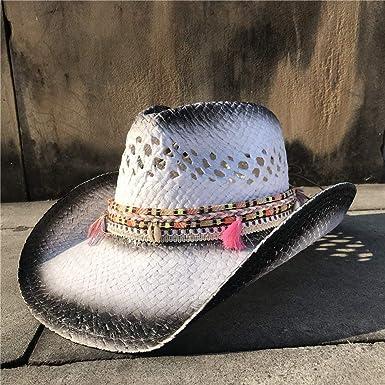 GHC gorras y sombreros Dama de verano Vaquera Sombrero Fedora ...