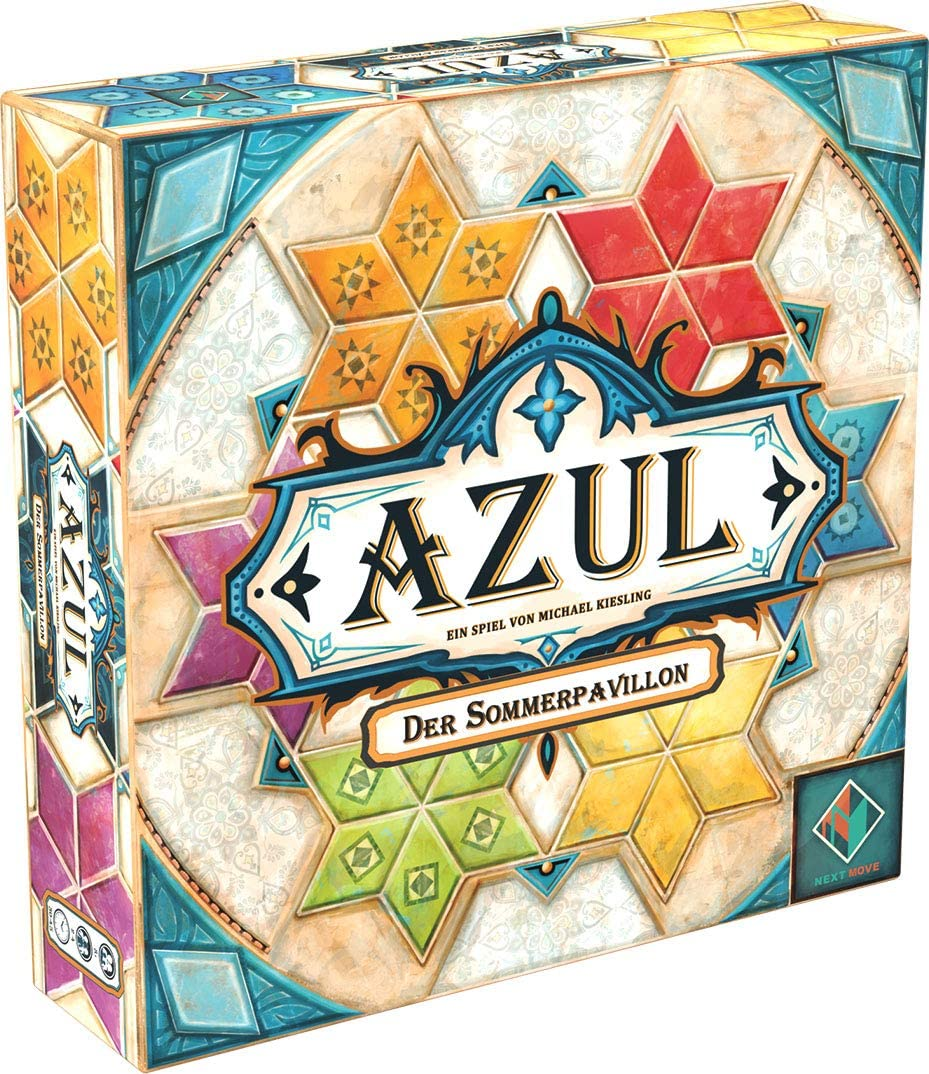 Pegasus Spiele 54811G Azul - El cenador de Verano (Next Move Games): Amazon.es: Juguetes y juegos