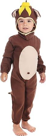 Disfraz infantil de Chimpancé. 3 años: Bristol Novelty: Amazon.es ...