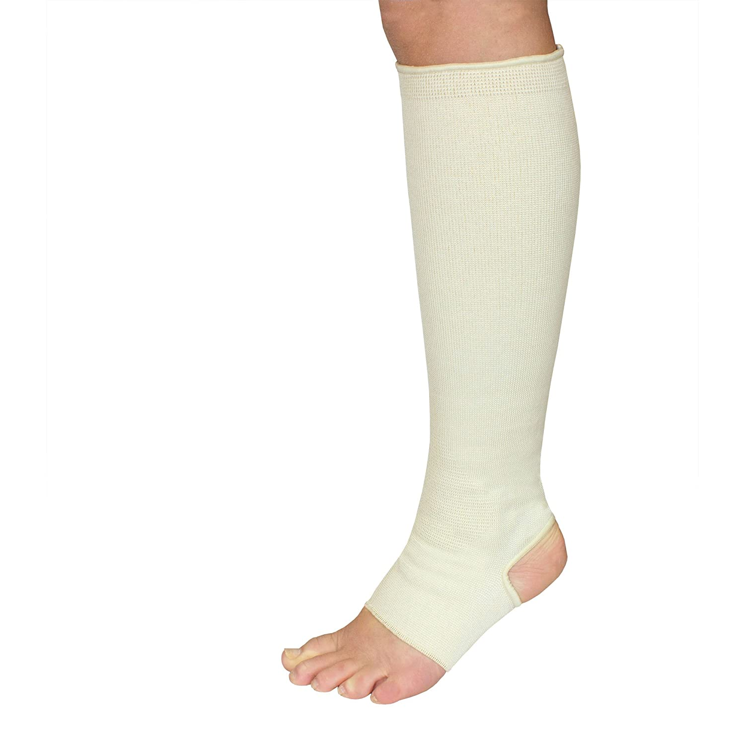 3462f72a5a Amazon.com: Elastic Garter Hose Ankle Leg Medical Compression Stocking  Support (X-Small): Health & Personal Care