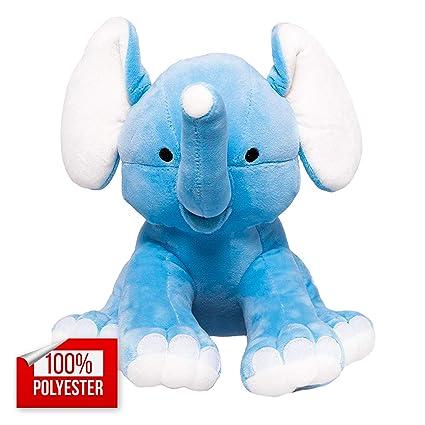 Amazon Com Squishatoy Elephant Stuffed Animal Plush Toy For Baby
