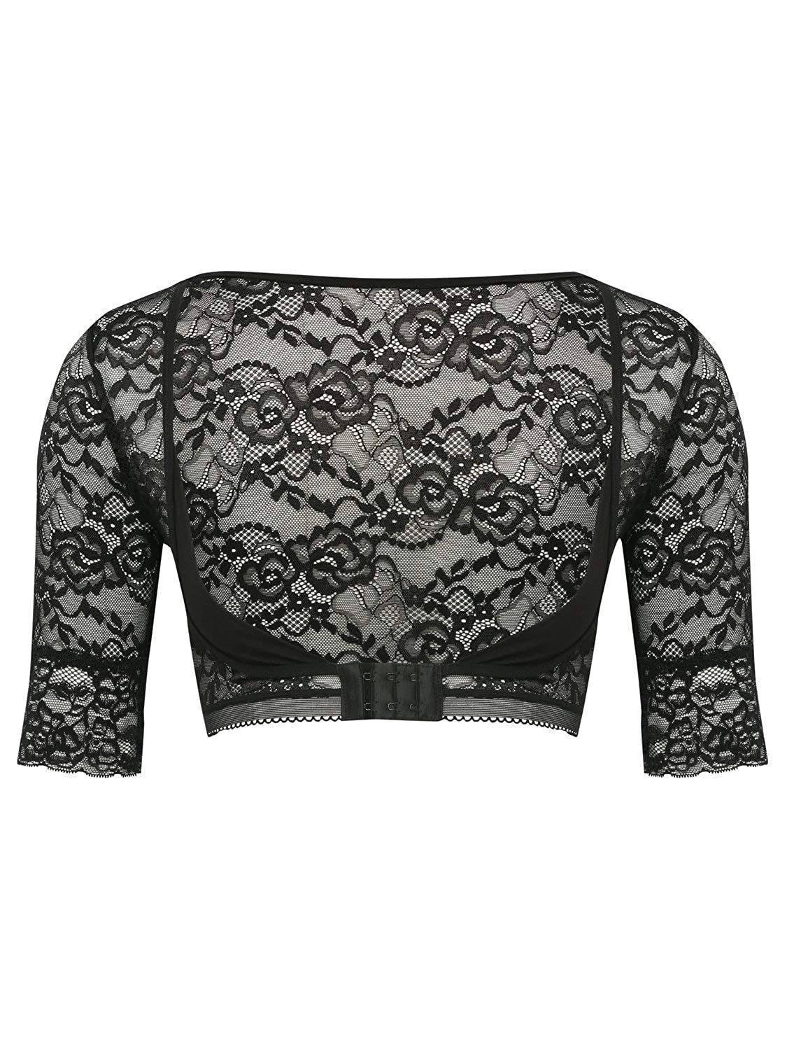 M& Co Ladies Sheer Lace Arm Cover Up