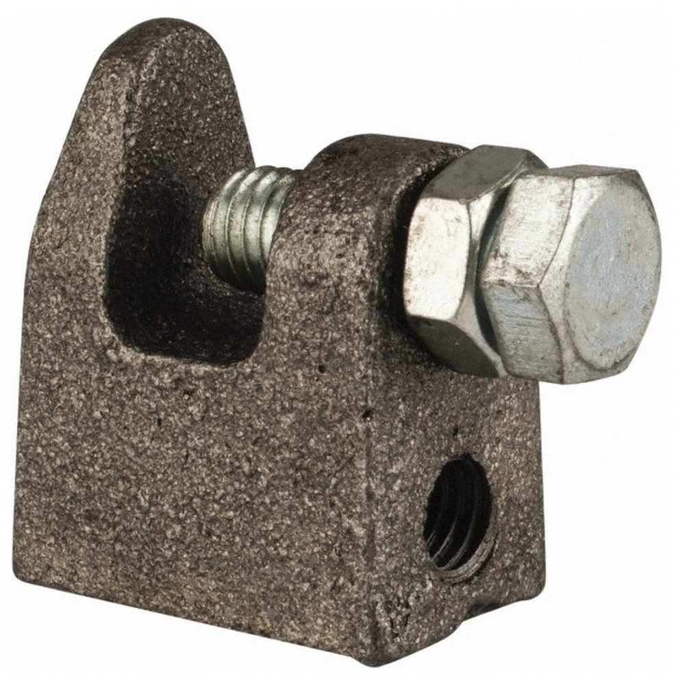 3/4'' Max Flange Thickness, 1/2'' Rod Top Beam Clamp, 700 Lb Capacity, Malleable Iron