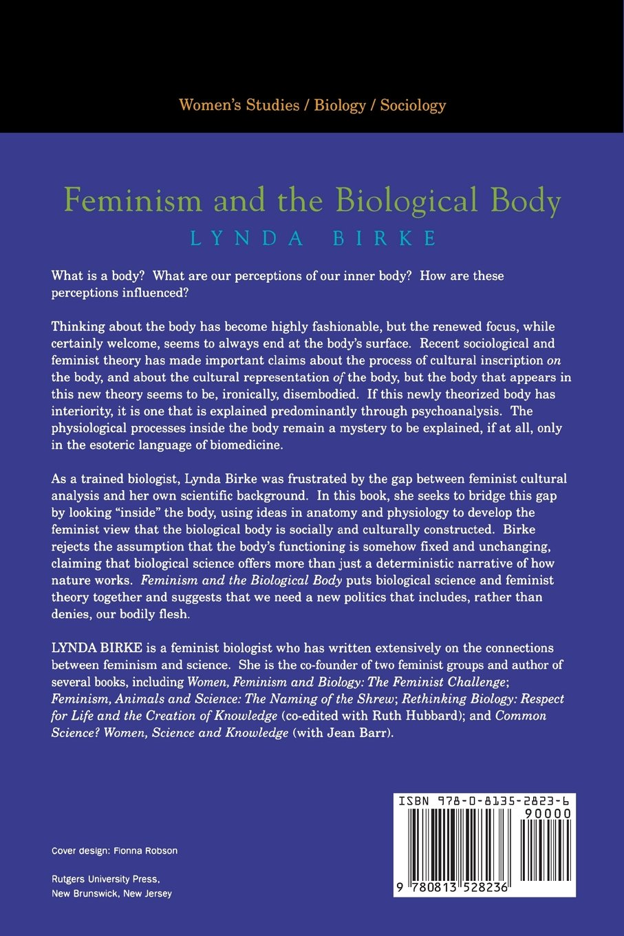 Feminism and the Biological Body: Amazon co uk: Lynda Birke