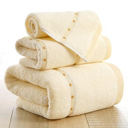 Neiqy- 650GSM Juego de toallas Premium Luxury Hotel & Spa Towel 100% Toallas de baño ...