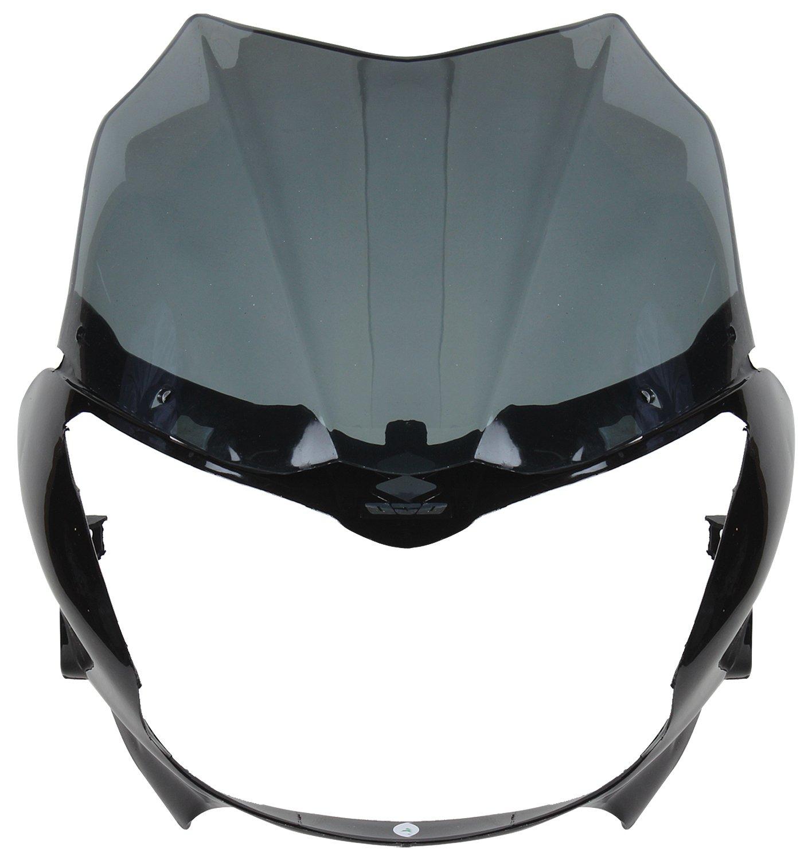 Sai Sai 22 Headlight Visor For Bajaj Xcd Black Amazon In Car