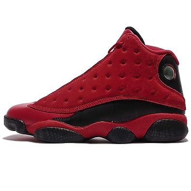 Jordan Men's Air 13 Retro SNGL DY, GYM RED/BLACK, ...