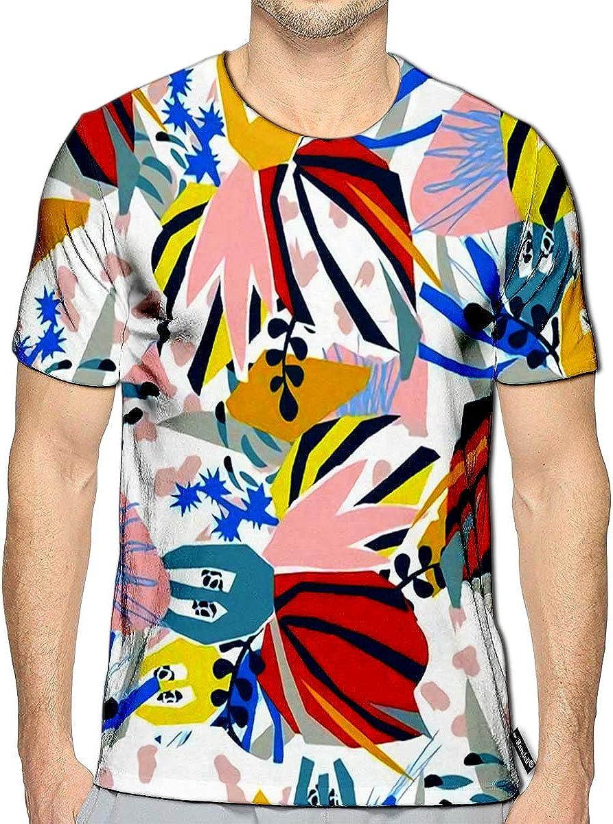3D Printed T-Shirts Retro Memphis 80 90S Fashion Style Short Sleeve Tops Tees