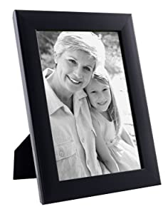PRINTELLIGENT Beautiful Single Black Picture Frame 6 inch x 4 inch