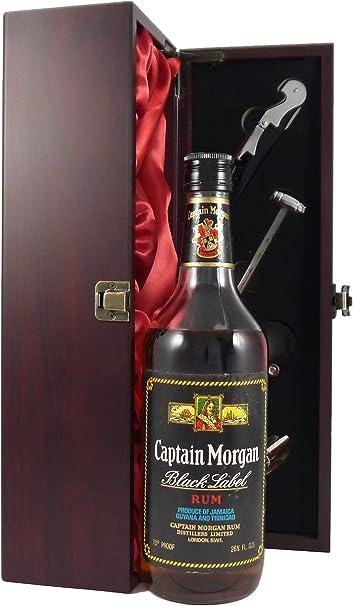 (60s bottling) Captain Morgan Black Label Jamaica Rum (60s ...
