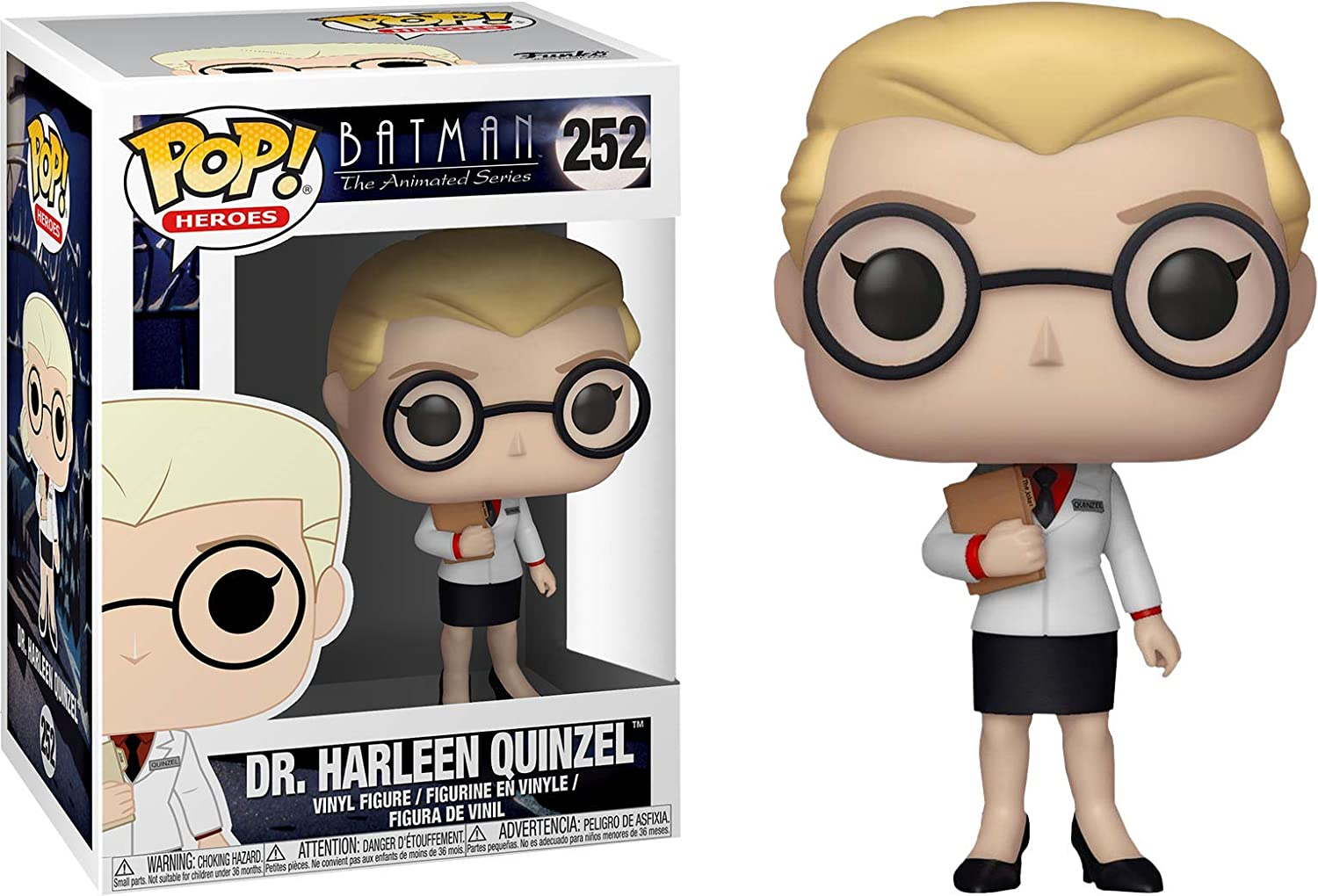 Multicolor Batman Doctor Harleen Quinzel Collectible Figure Funko Pop Heroes