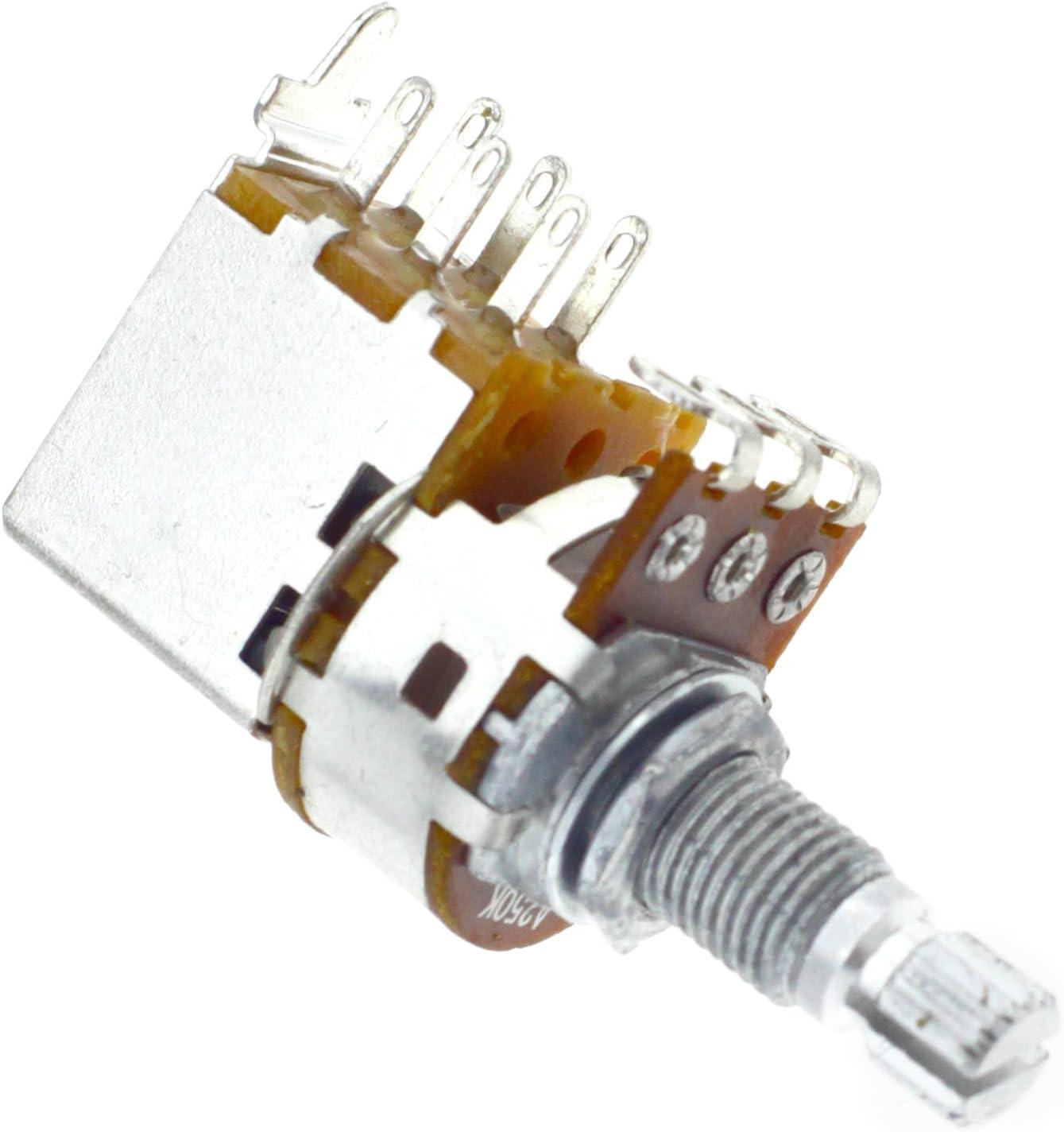 Push/Pull A250k Ohm - Potenciómetro para guitarra eléctrica ...