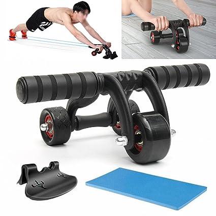 3 RÃ ¤ la Tripa Roller A Partir de Muscle Fitness Workout Sistema de entrenamiento Gym
