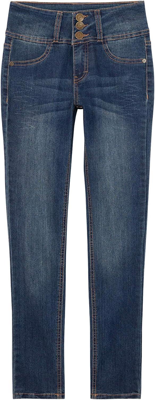 Lee High Waist Jeans for Teen Girls– Cute Jeans for Girls with Elastic Waist   Juniors Girls Jeans