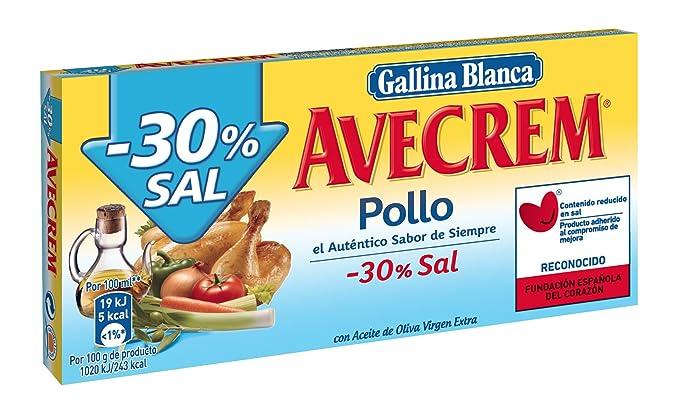 Gallina Blanca - Caldo De Pollo -30% Sal 10 Pastillas - [pack de