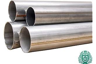 V2/A Tubo de escape Tubo de acero inoxidable 1.4301 Tubo de acero inoxidable di/ámetro de 76/mm x 1000/mm 1/m