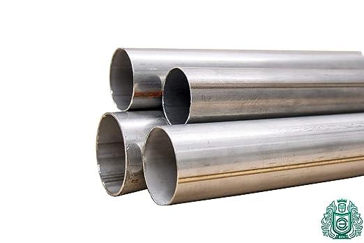Tubo de acero inoxidable Ø 15 x 2,5 - 101,6 x 2 mm 1.4301 ...