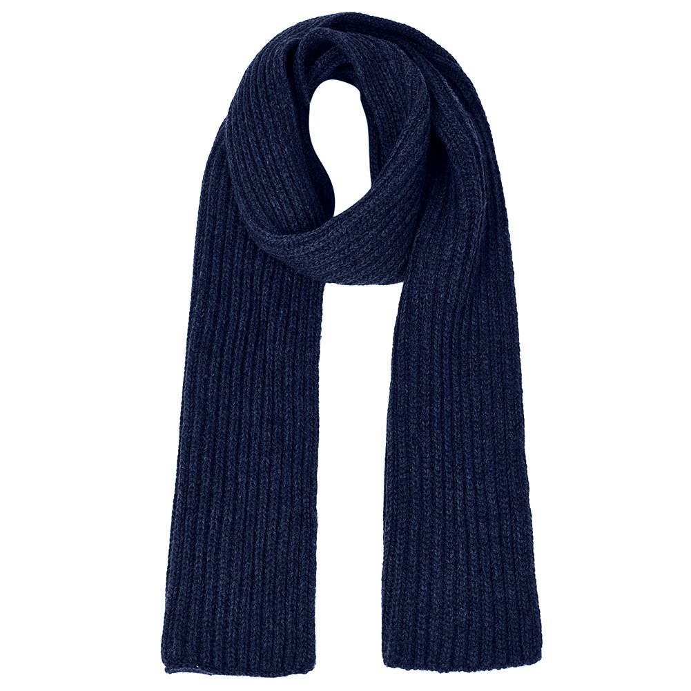Vbiger Unisex knitted Scarf Warm Wrap Shawl Thickened Winter Infinity Scarf for Men and Women (Navy Blue)