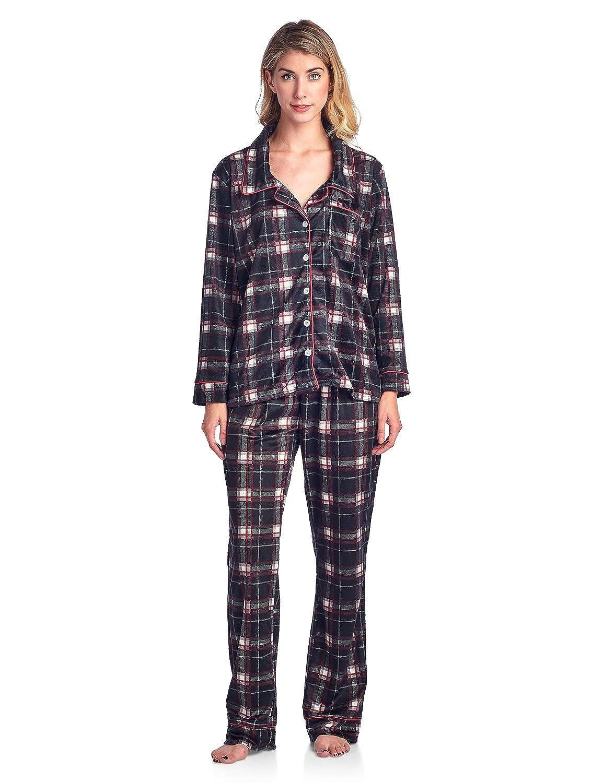 Ashford & Brooks Women's Cozy Micro Fleece Pajama Set ABW73552MFPJ