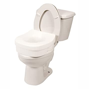Outstanding Pcp 5 Toilet Seat Riser With Discreet Traveling Carry Bag Contour Molded Elevated Safety Seat Commode Riser Inzonedesignstudio Interior Chair Design Inzonedesignstudiocom