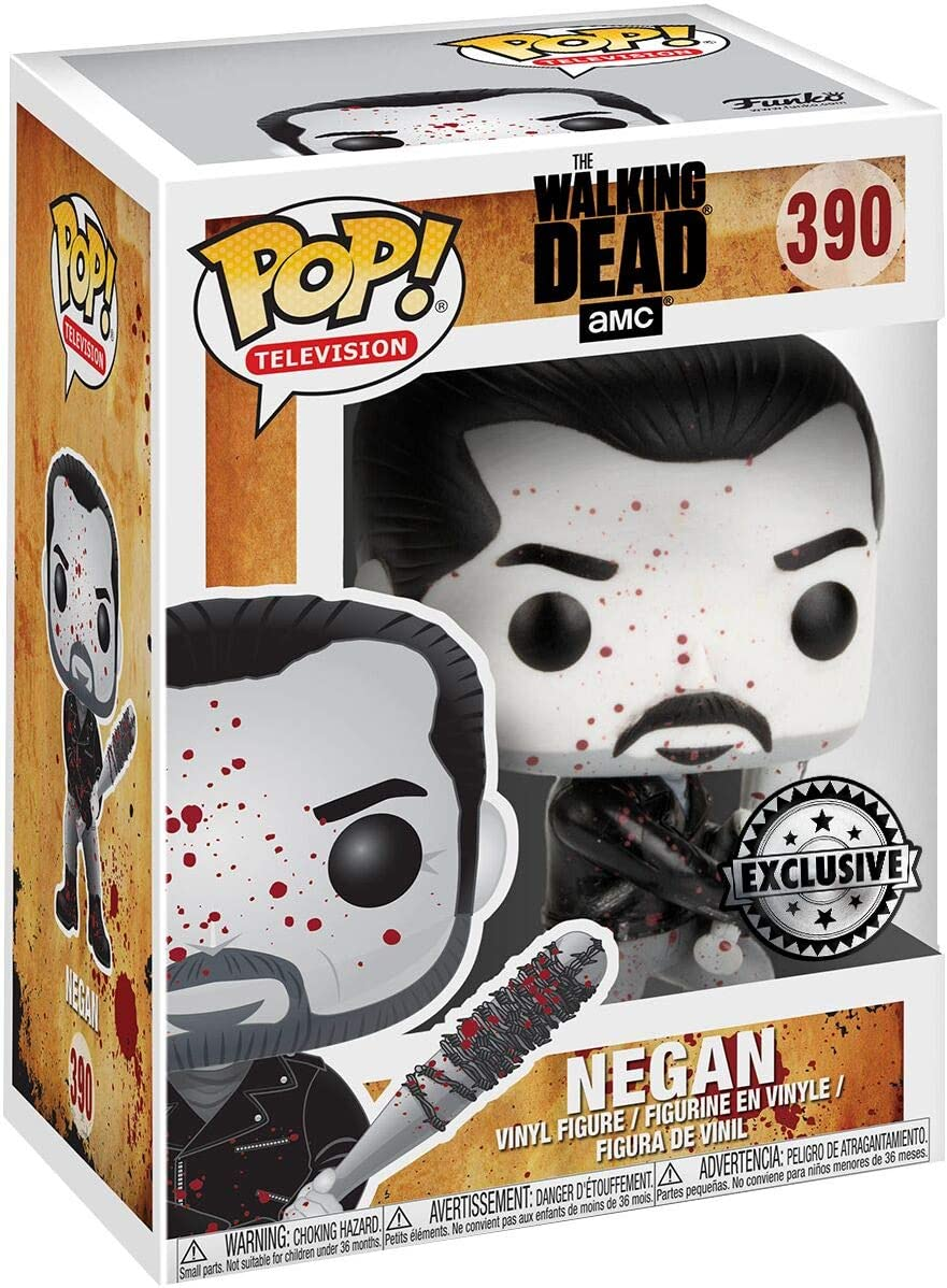 The Walking Dead Keychain Negan Collectible Toy Funko Pop