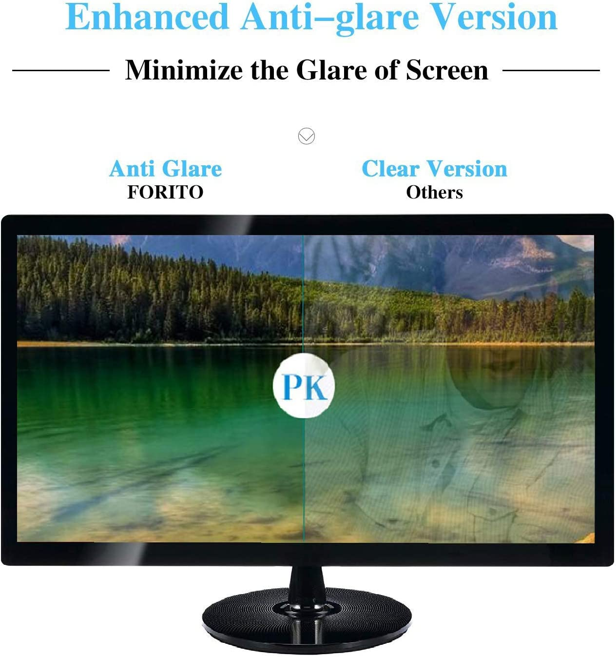 FW2791 7 Anti Glare Filter Eye Protection Blue Light Blocking Anti Glare Relieve visual fatigue Screen Film Protective Protectors Not Tempered Glass 【2 Pack】 Sukix Anti Blue Light Screen Protector for FEELWORLD FW279S