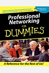 Professional Networking For Dummies Paperback