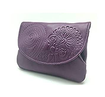 Cartera Portamonedas Monedero para Mujer Marca: Lugupell - Color: Lila (12,5 x 9 cm): Amazon.es: Equipaje