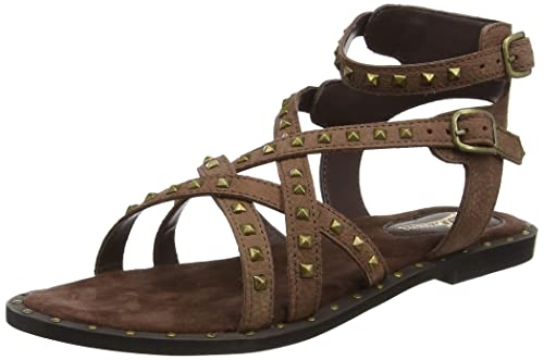 Womens Lazy Days Leather Studded Gladiator Sandals Joe Browns 4lip7l