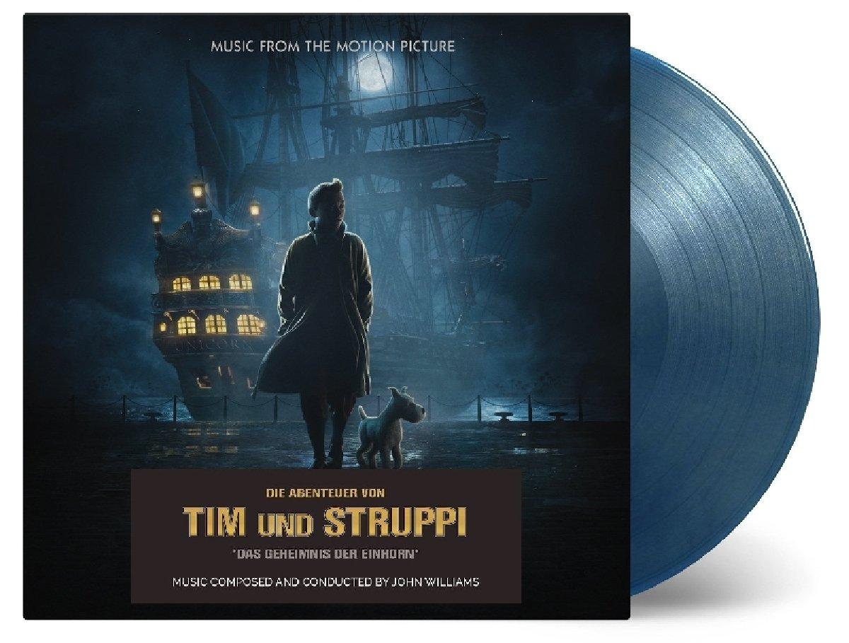 Vinilo : John Williams - Adventures Of Tintin: The Secret Of The Unicorn (original Soundtrack) (Blue, Gold, 180 Gram Vinyl, Limited Edition, 2PC)