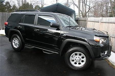 TRAIL EDITION ONLY SUV 4 Door 10-13 N-FAB T1064R Textured Black Nerf Step; Wheel 2 Wheel Toyota 4 Runner
