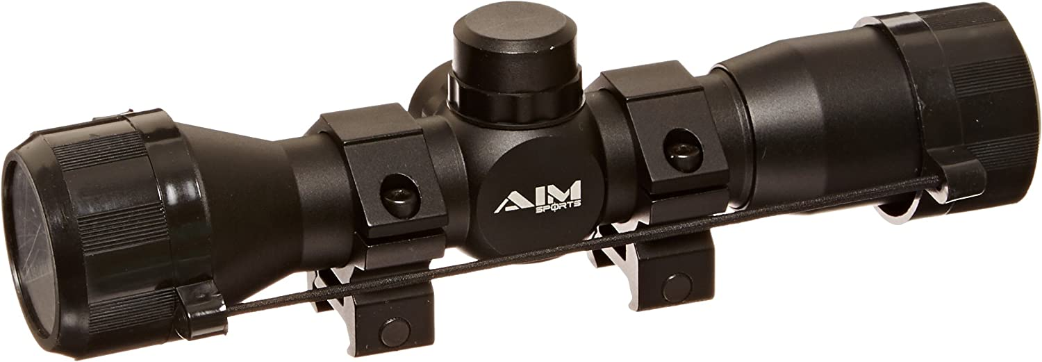 Aim Sports 4X32 Compact Rangfinder Scope for SKS