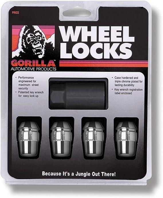 Gorilla Automotive 70973 Acorn Open End Wheel Installation Kit For 5 Lug Wheels 7//16 Thread Size