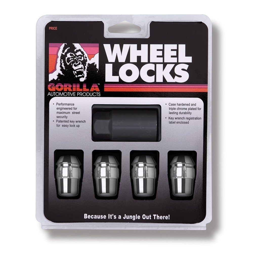 Gorilla Automotive 71671N Acorn Wheel Locks (7/16' Thread Size)
