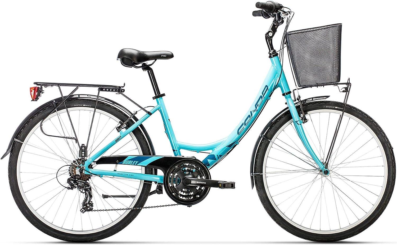 Conor Burley Bicicleta Ciclismo Mujer, Turquesa (Turquesa), M ...