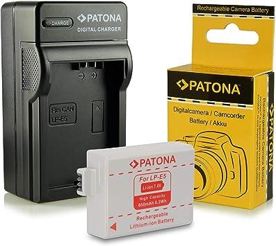 Chargeur Batterie Lp E5 Pour Canon Eos 1000d Eos 450d Eos 500d Eos Rebel T1i Eos Rebel Xs Eos Rebel Xsi Amazon Fr Photo Caméscopes