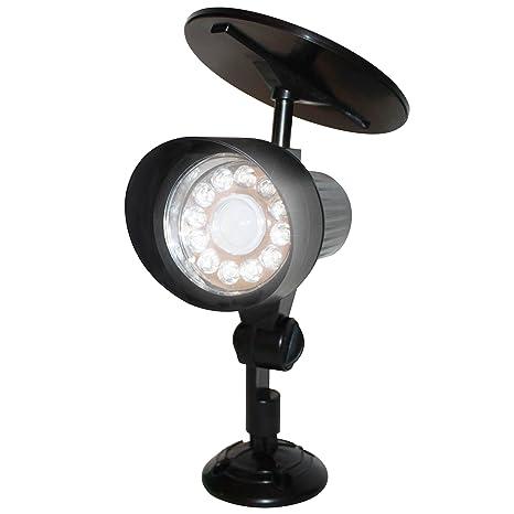 EcoThink 3 Pack Solar Lighting Deal   12 LED Motion Activated Outdoor  Flood/Spot Light