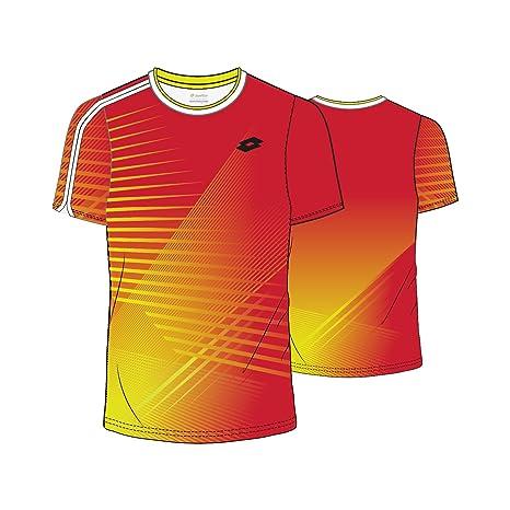 Lotto Paddle tee - Camiseta, Hombre, Naranja(Flame): Amazon.es ...