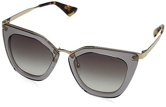 4e18c3242e Amazon.com  Prada Women s Transparent Sunglasses
