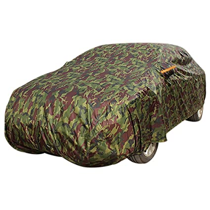 XL Breathable Full Car Cover Waterproof  Aganist UV Protection Indoor Outdoor