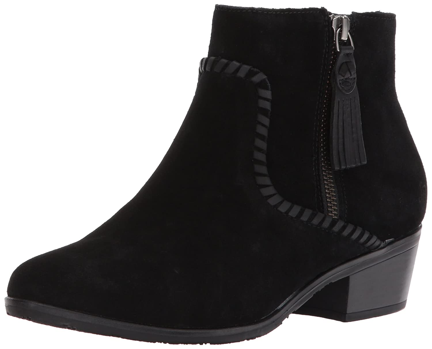 Jack Rogers Women's Dylan Waterproof Ankle Boot B06WWGWG56 7 M US|Black Suede