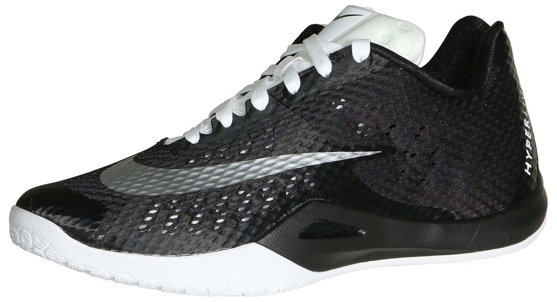 NIKE Men's Hyperlive TB Basketball Shoes-Black/White B073NQTW1D 10 D(M) US|Black/White