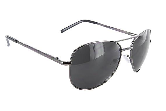 21828ca26c Large Flat Top Aviator Sunglasses Metal Bridge Sport Racing Mens ...
