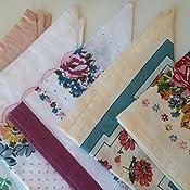 Moda Home Set of 16 Western Reproduction Cloth Handkerchiefs Hankies Gift Set