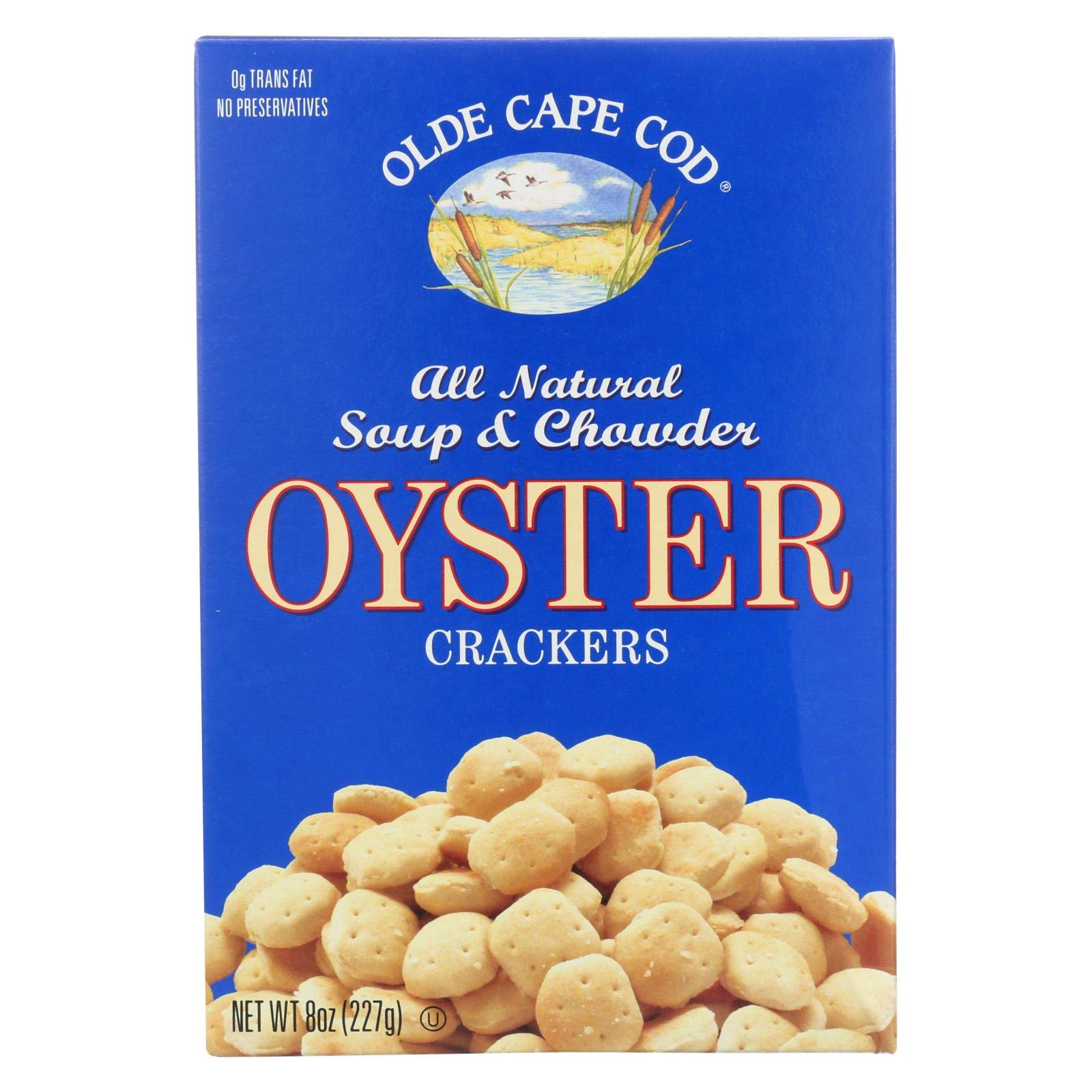 Westminster Cracker Company Crackers, Oyster, Trans Ff, 8 Ounce