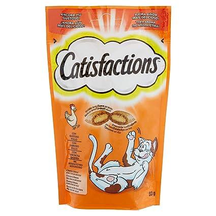 Catisfactions Premios Para Gatos Sabor Pollo - 60 gr