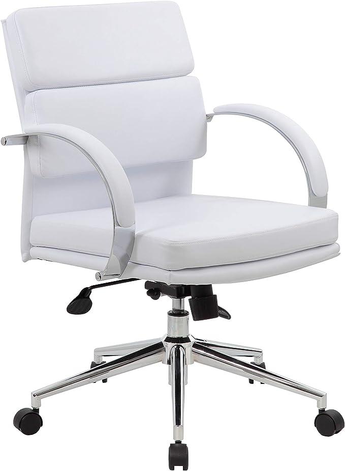 Amazon Com Boss Office Boss Caressoftplus Mid Back Executive Black Furniture Decor