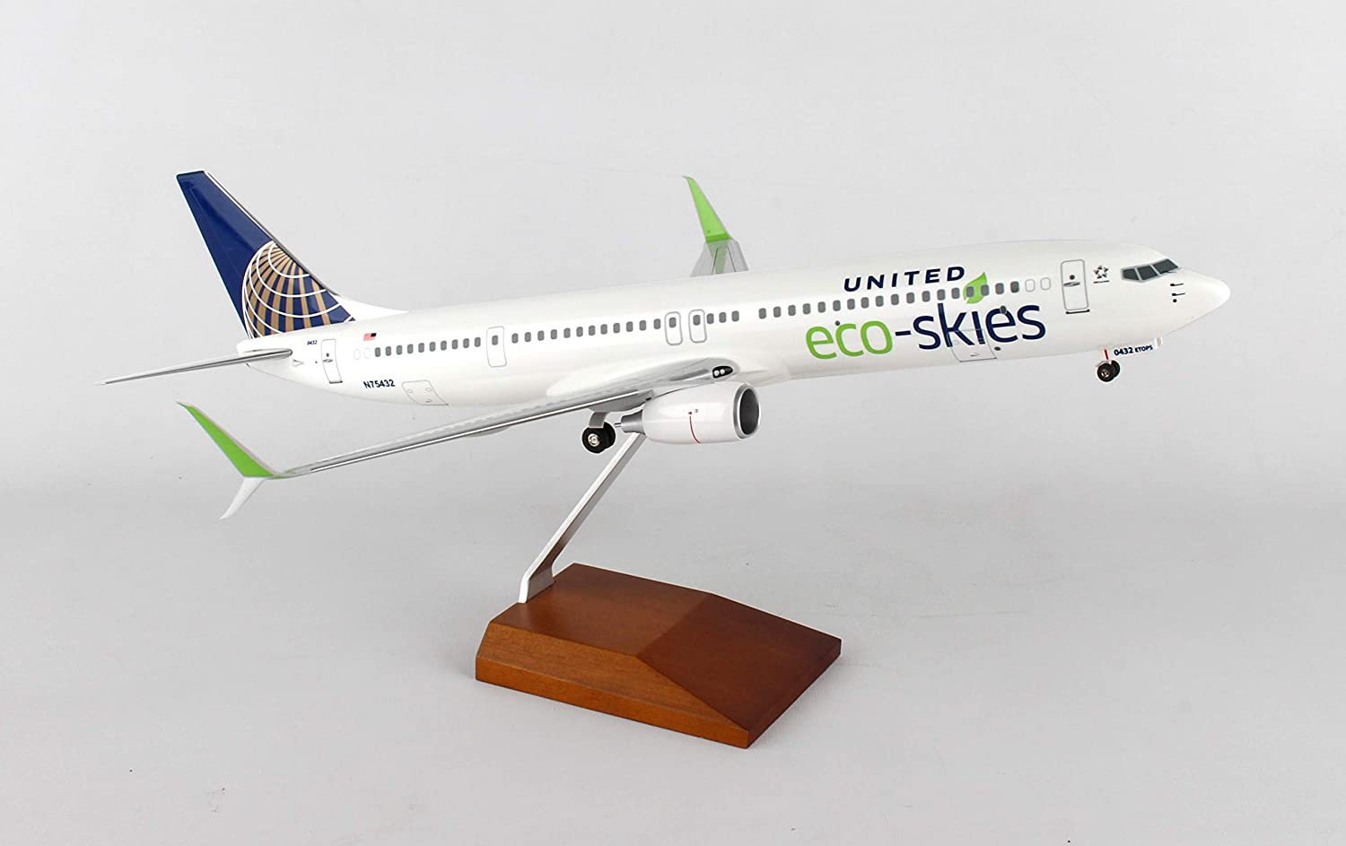 1:200 GeminiJets Wooden Display Stand Large