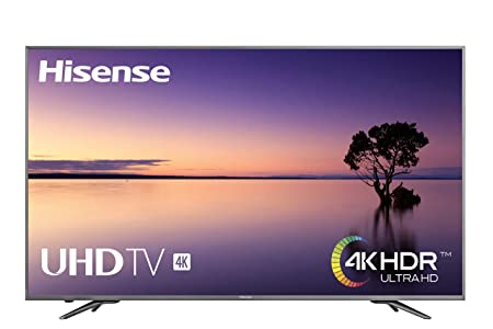 Hisense H75N5800 189 cm (75 Zoll) LED Fernseher (Ultra HD, HDR Plus, Triple Tuner, Smart TV, USB-Aufnahmefunktion) Pure Metal